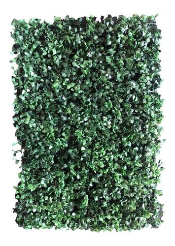 follaje artificial sintetico muro verde 20pzas 60 x 40 cm arrayan decoración de bardas y paredes cubre 4.8m2