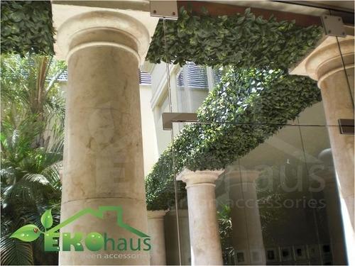 Follaje artificial sintetica muro verde jardin vertical en mercado libre - Jardin vertical artificial barato ...