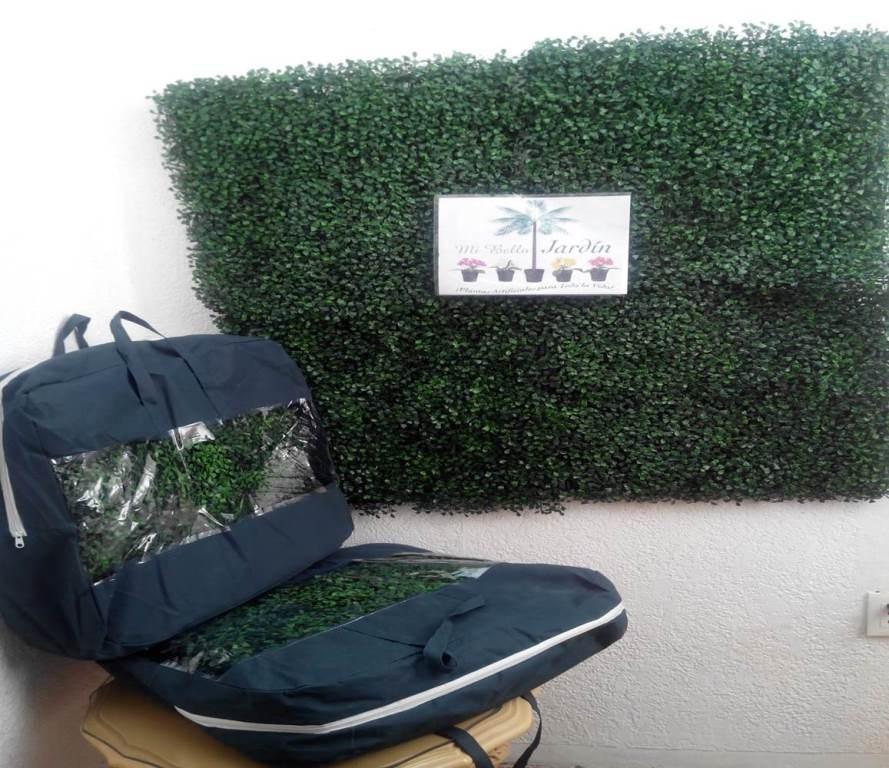 Follaje en cuadros para decorar paredes verdes maa for Follaje para jardin