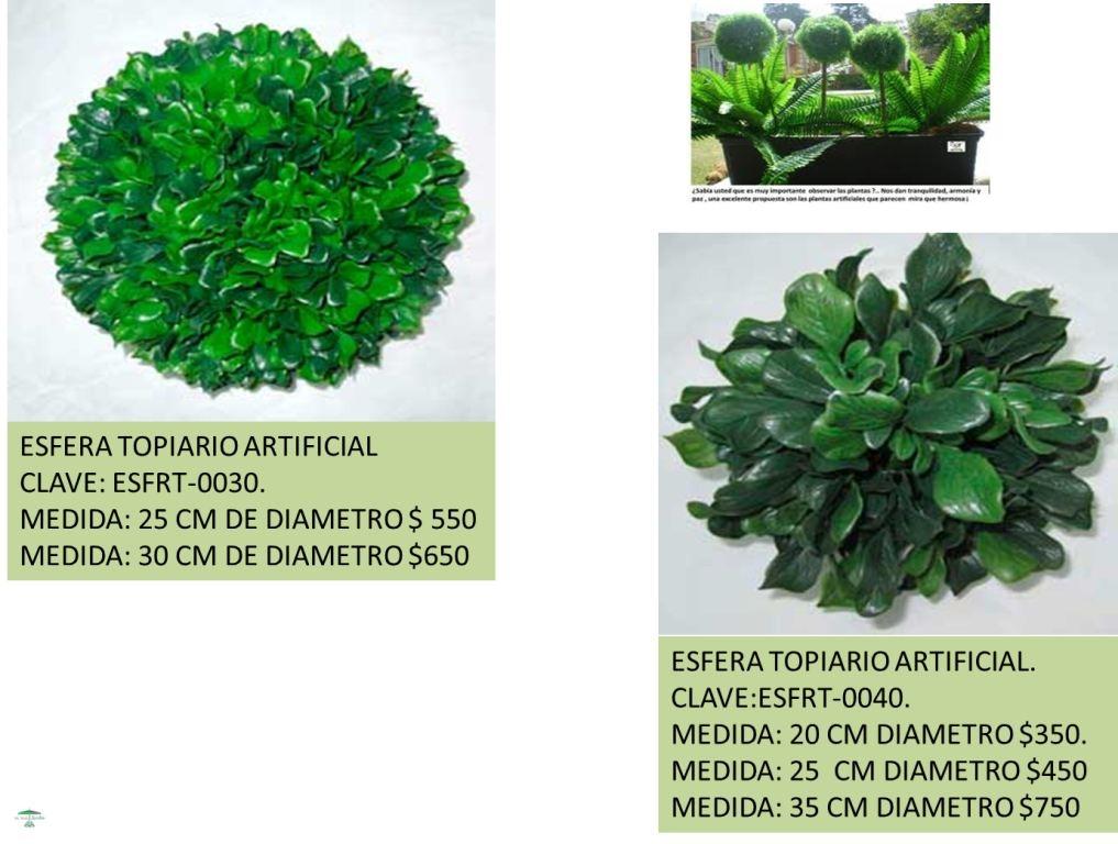 Follaje verde artificial plantas decorativas lbf 355 for Plantas decorativas