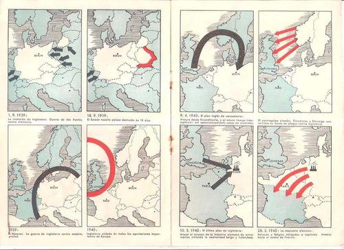 folleto alemán 1940: inglaterra situación político económica