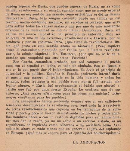 folleto anarquista fai españa 1937 stalin rusia krivitsky