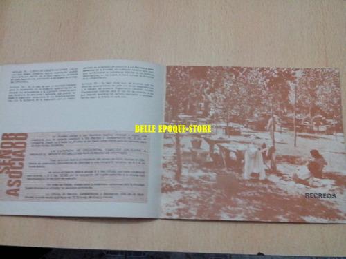 folleto automovil club argentino decada del 60