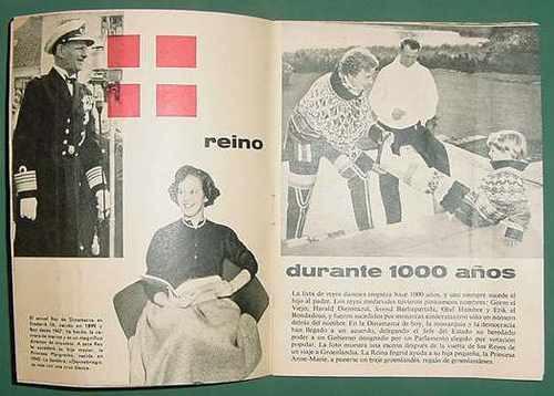 folleto el danes de hoy dinamarca groenlandia copenague