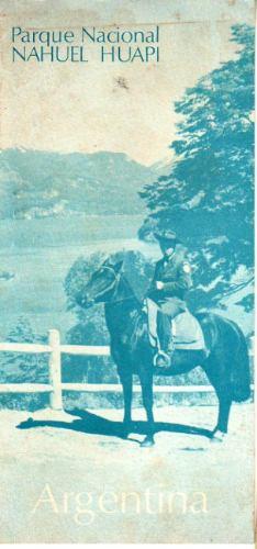 folleto turistico parque nacional nahuel huapi años 70