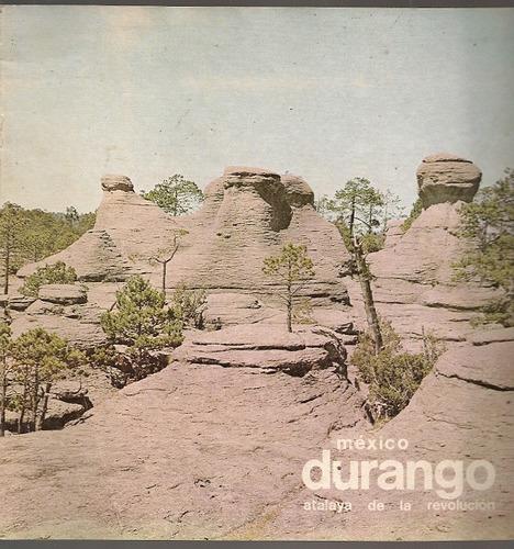 folletos oficiales turismo méxico varios estados años 70s