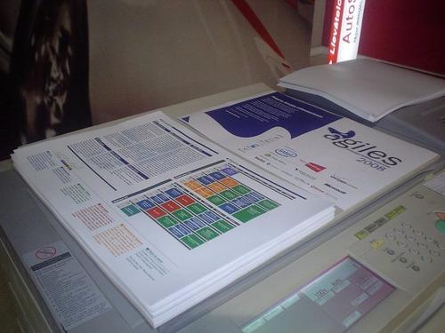 folletos / volantes color en el dia x1000 - microcentro