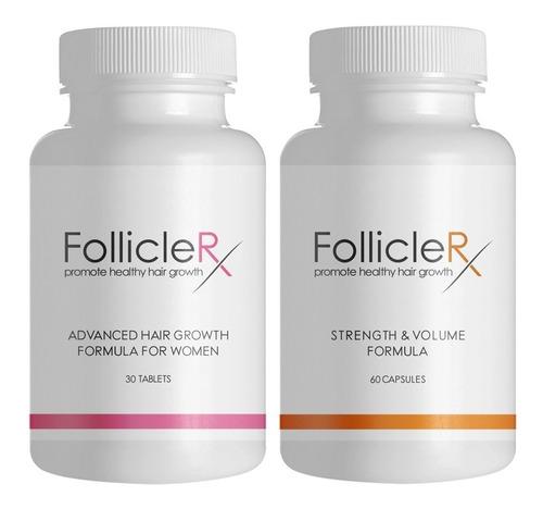 follicle rx caida de cabello alopecia kit mujer 2 folliclerx