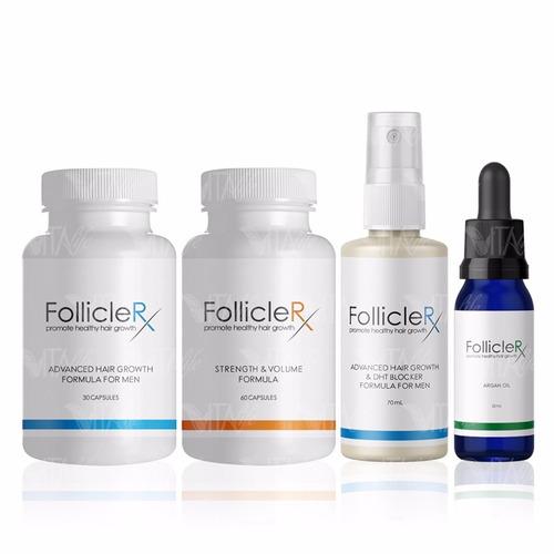 follicle rx hombre kit completo contra la caida folliclerx