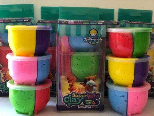 fomix moldeable didáctico marca claydoll precio $8,50