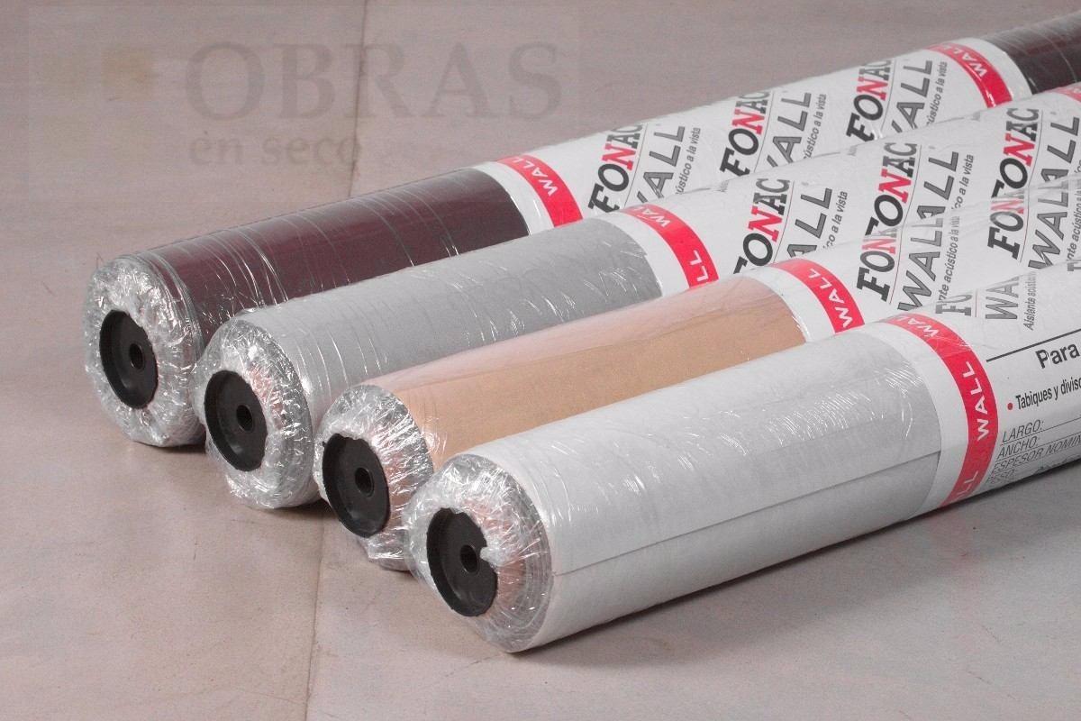 Fonac Wall Aislante Acustico Pared 1 22 X 2 60 Color Blanco  ~ Mejor Aislante Acustico Paredes