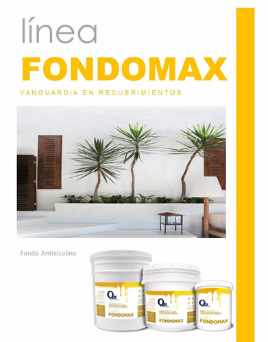 fondo antialcalino paredes húmedas cuñete(5gal) fondomax