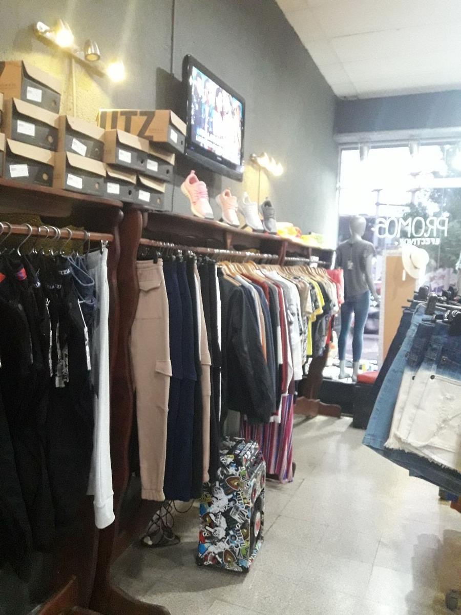fondo de comercio calzado e indumentaria marcas reconocidas