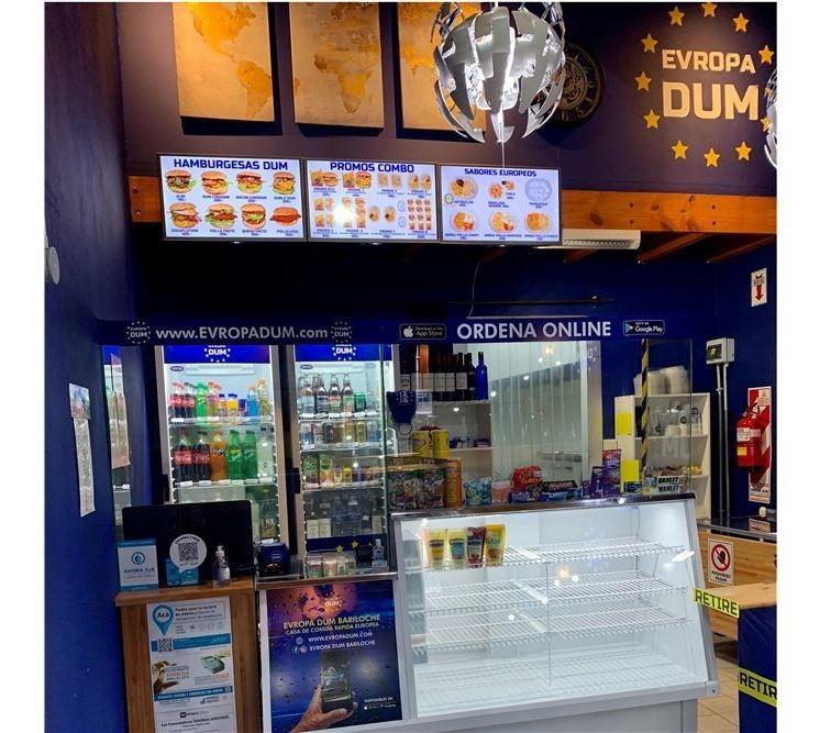 fondo de comercio comida rapida europea bariloche