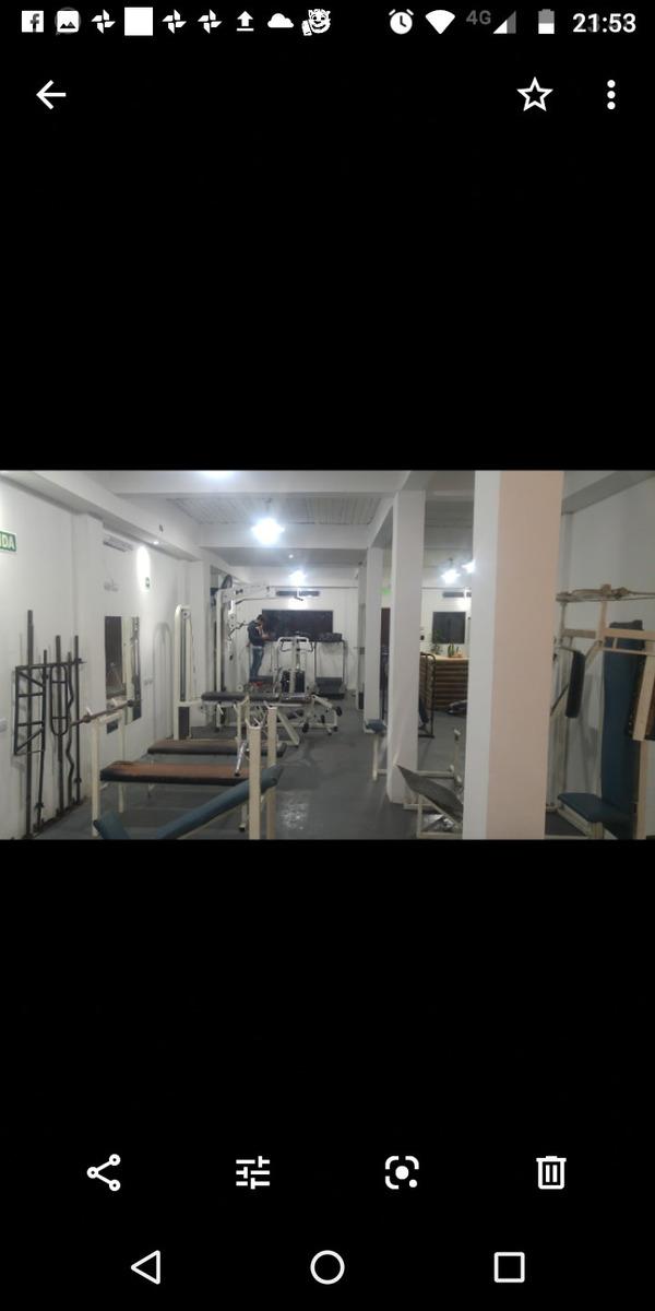 fondo de comercio gimnasio