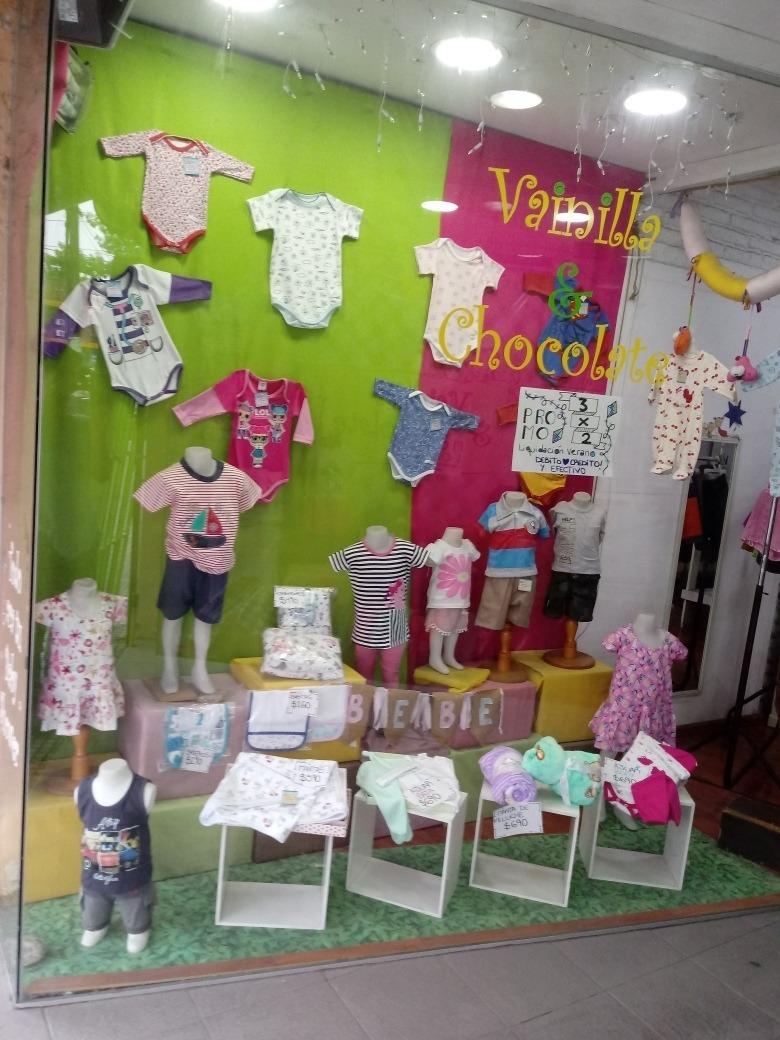 fondo de comercio ropa para chicos
