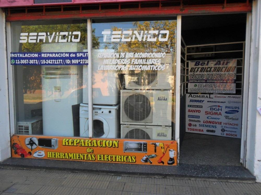fondo de comercio servicio tecnico refrigeracion-lavarropas