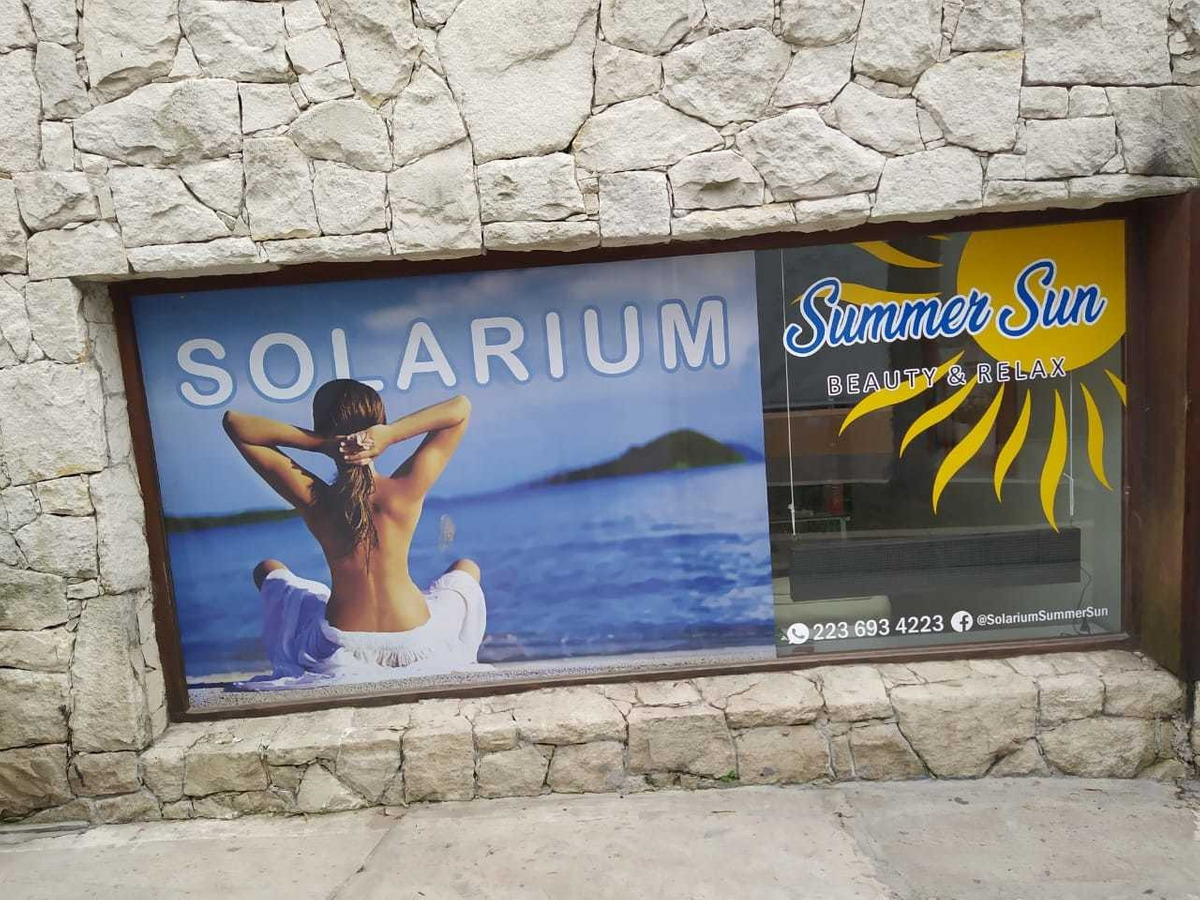 fondo de comercio solarium - sierra de los padres