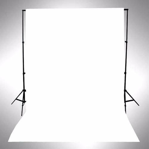 fondo de fotografia infinito - lona blackout 160x100 blanca