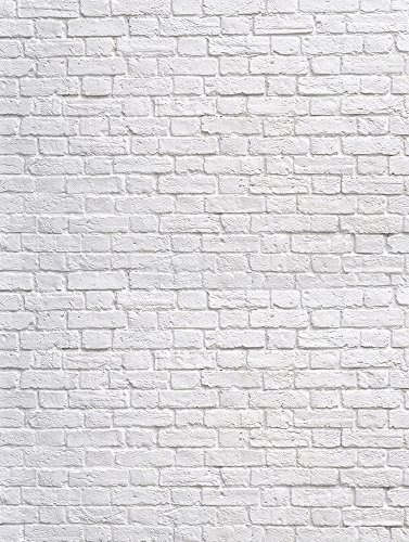 Ladrillo Blanco Ladrillos Fotomural Ladrillo Blanco Estilo Retro - Pared-ladrillo-blanco