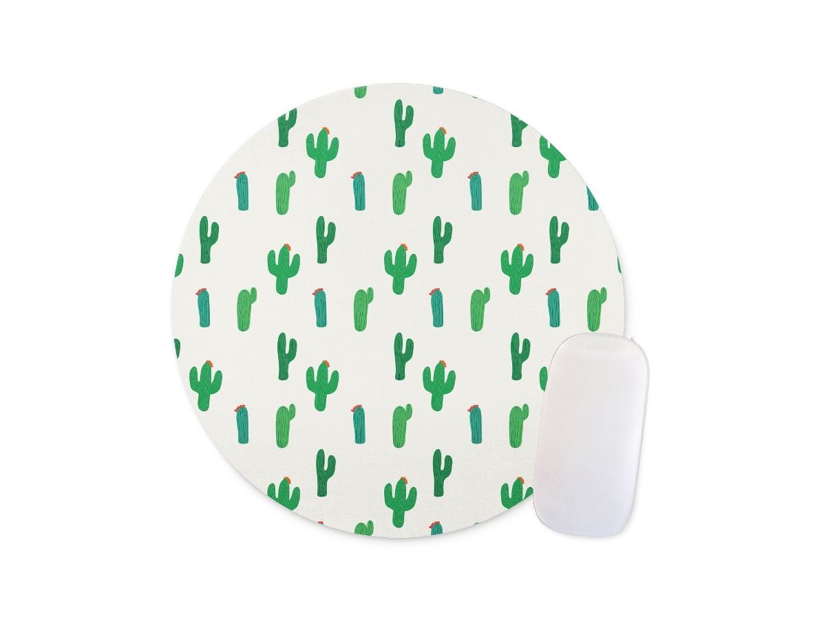 Fondo De Vector De Patrones Sin Fisuras De Cactus Tarjeta De ...