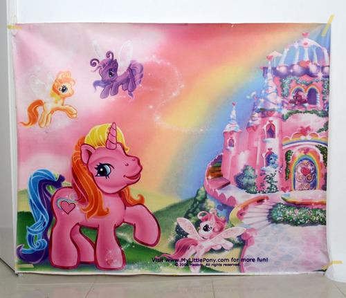 fondo fotográfico mate (1.30x1.65 mtrs) -  pony tale