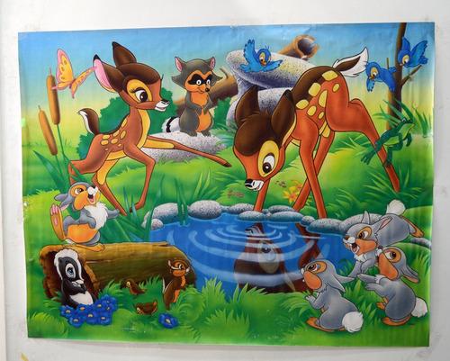 fondo fotográfico mate (1.70x1.30 mtrs) -  bambi