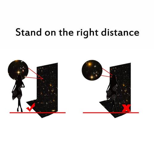 fondo fuermor 5x7ft flashing galaxy stars fotografía telón d