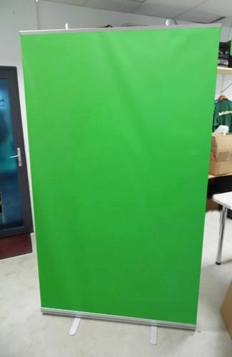 fondo infinito croma key verde 1.20x2mt - incluye estructura