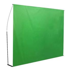 Fondo Infinito Croma Key Verde 3x2mt - Incluye Estructura