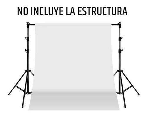 fondo infinito fotografia sin fin telon blanco 2.2x5 m