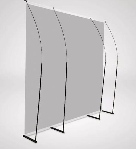 fondo infinito sin fin blanco 3x4 estructura + piso