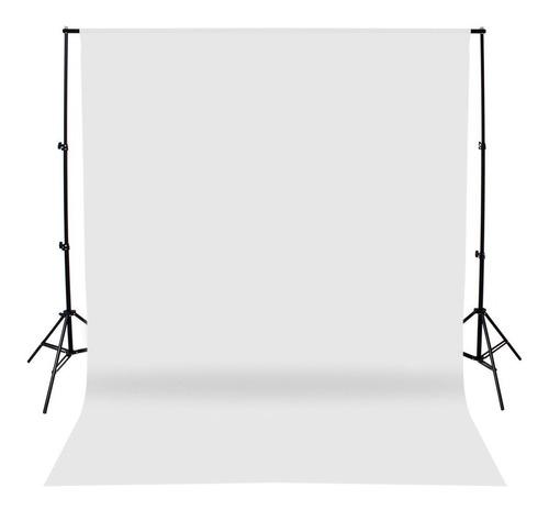 fondo infinito telon fotografia sin fin tela blanco 2x3.2 mt