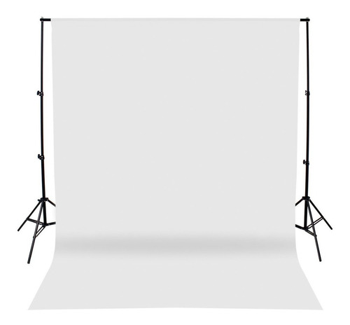 fondo infinito telon fotografia sin fin tela blanco 2x6 mt
