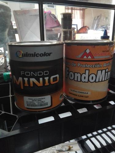 fondo minio anticorrosivo naranja galon