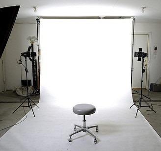 fondo pantalla fotográfico ciclorama 3 piezas y colores 3x6m