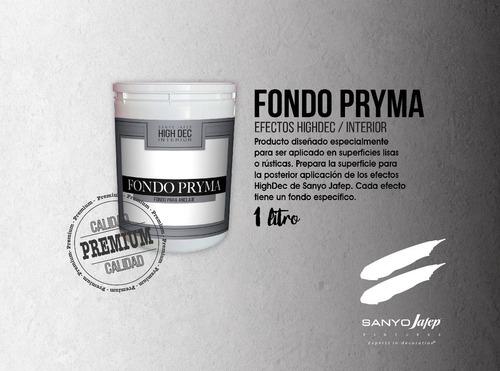 fondo pryma 1lt efectos sanyo jafep envío gratis* + promo