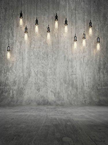 fondos de fotografía de 5x6.5ft gris con fondo de droplight