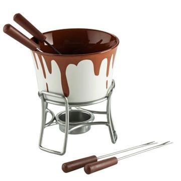 fondue electrico para chocolate