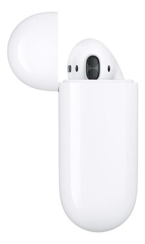 fone airpods 2ª geração mv7n2 - carregador com fio