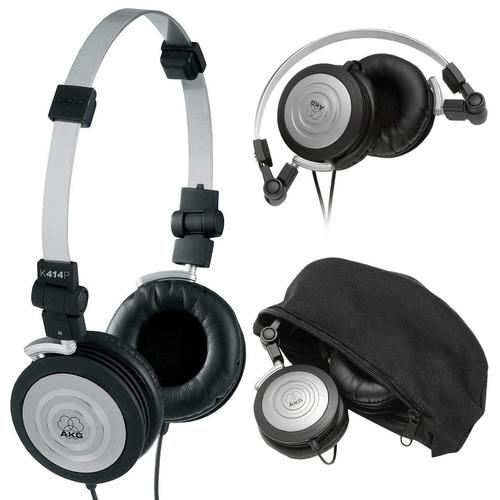fone akg k414 original ajustável retorno e ouvir musicas