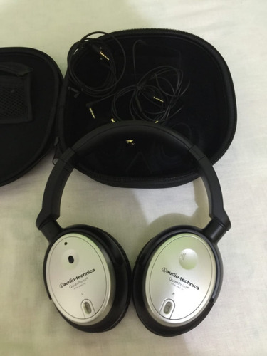 fone audio technica active noisecancelling athanc7b
