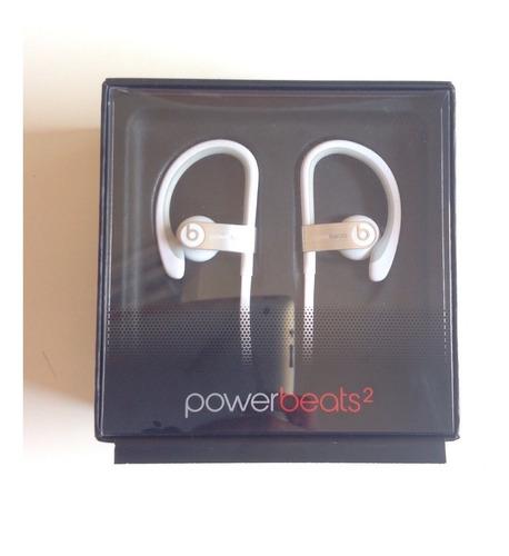 fone beats powerbeats 2 novissimo branco original com fios