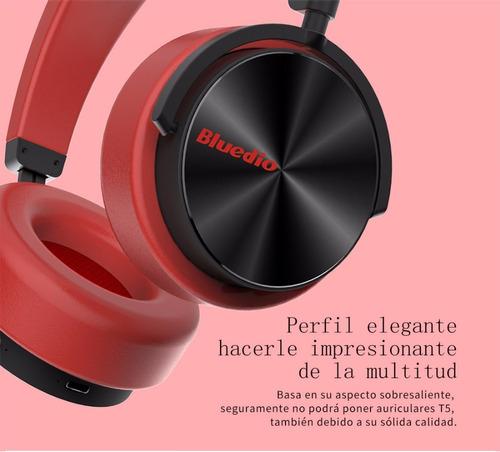 fone bluetooth s/ fio 4.2 3d sound t5 bluedio