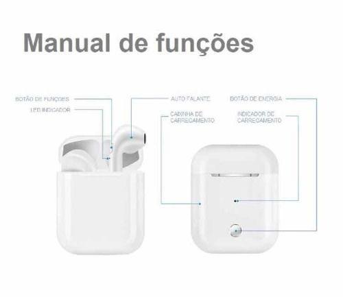 Fone Bluetooth Sem Fio AirPods I9s Tws 5 0 iPhone 6, 7, 8, X