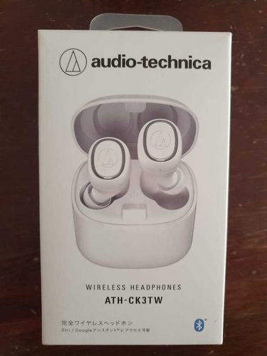 fone bluetooth sem fio audio technica ath-ck3tw