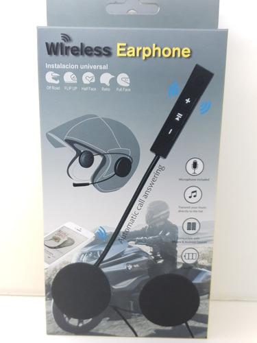 fone com microfone bluetooth para capacete moto