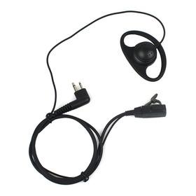 Fone Com Microfone Ptt Para Radio Ht Motorola Ep450
