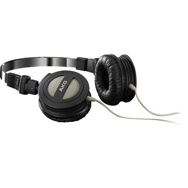 ac889c1fe05 Fone De Ouvido Akg K404 Dobrável Headphone Preto - R  119