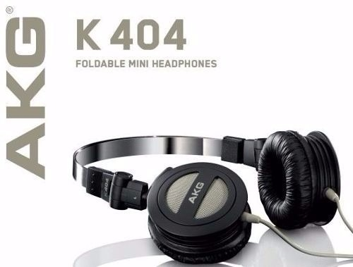 63300e188c0 Fone De Ouvido Akg K404 Original Dobrável Monitor + Bolsa - R  119 ...